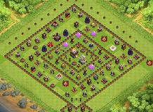 YEET YEET BROTHER TH 11 Clash of Clans Base Layout