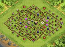 Good TH 11 Clash of Clans Base Layout