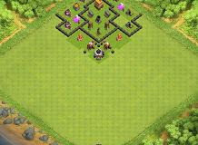 Base TH 4 Clash of Clans Base Layout