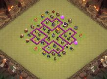 Dope TH 6 Clash of Clans Base Layout