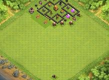 HimeGaming TH 4 Clash of Clans Base Layout