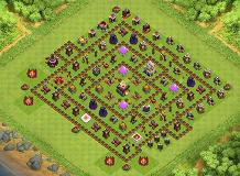 NOOBIS TH 11 Clash of Clans Base Layout