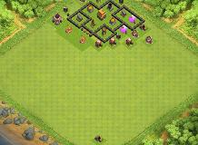 gg TH 4 Clash of Clans Base Layout