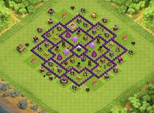 ggggggg TH 8 Clash of Clans Base Layout