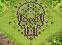 Ms TH 8 Clash of Clans Base Layout