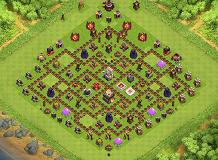 .-. TH 11 Clash of Clans Base Layout