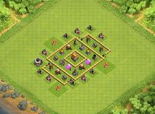 sony TH 5 Clash of Clans Base Layout