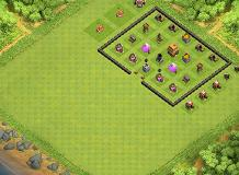 Biswa base TH 4 Clash of Clans Base Layout