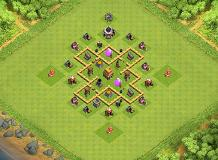 TH5 Base TH 5 Clash of Clans Base Layout