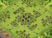 Experiment 01 TH 10 Clash of Clans Base Layout