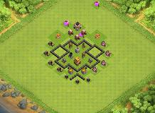 Sully TH 4 Clash of Clans Base Layout