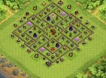 Layout12 TH 10 Clash of Clans Base Layout