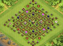 BEST TH11 MAX!!!!! TH 11 Clash of Clans Base Layout
