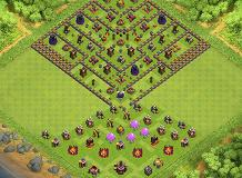 only use against clan mates TH 10 Clash of Clans Base Layout