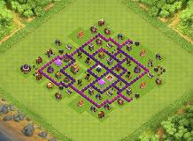 My TH7 Base TH 7 Clash of Clans Base Layout