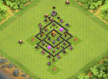 Daddy TH 5 Clash of Clans Base Layout