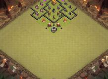 TH4 layout TH 4 Clash of Clans Base Layout