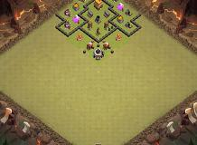 Spirited TH 4 Clash of Clans Base Layout
