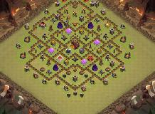 Dante TH 10 Clash of Clans Base Layout