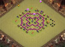 Lol TH 6 Clash of Clans Base Layout