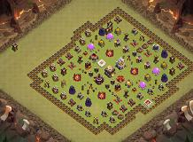 hi TH 11 Clash of Clans Base Layout