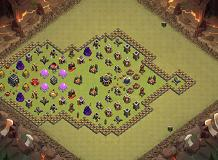 hi 2 TH 9 Clash of Clans Base Layout