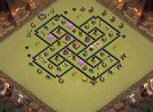 Layout1 TH 8 Clash of Clans Base Layout