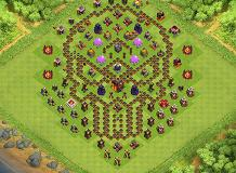 Yeet TH 10 Clash of Clans Base Layout