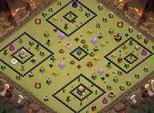 jcuvciybuy TH 11 Clash of Clans Base Layout