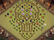 Skr TH 11 Clash of Clans Base Layout