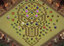 Aaa TH 11 Clash of Clans Base Layout