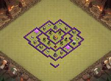 Air & Ground TH 7 Clash of Clans Base Layout