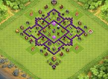 123 TH 7 Clash of Clans Base Layout