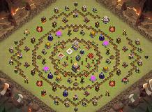 Hgh TH 11 Clash of Clans Base Layout