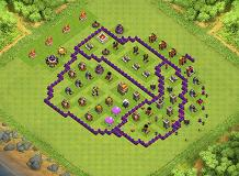 Ball TH 7 Clash of Clans Base Layout
