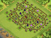 tripoux TH 10 Clash of Clans Base Layout