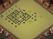 aaaa TH 5 Clash of Clans Base Layout