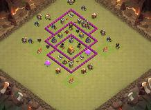 Bagus TH 6 Clash of Clans Base Layout