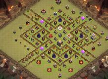 my th11 base. works pretty well TH 11 Clash of Clans Base Layout
