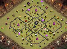 sdfgsfdgsdfgsfdgsfd TH 9 Clash of Clans Base Layout