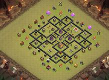 gdc salbakuta TH 8 Clash of Clans Base Layout