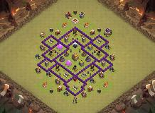 HDV 7 TH 7 Clash of Clans Base Layout