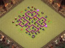 Th 6 TH 6 Clash of Clans Base Layout