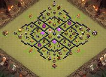 It's copied TH 8 Clash of Clans Base Layout