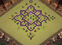 Gggg TH 7 Clash of Clans Base Layout