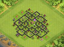 BrenoPRO TH 8 Clash of Clans Base Layout