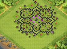 artprince TH 8 Clash of Clans Base Layout