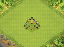 th1 :) TH 1 Clash of Clans Base Layout