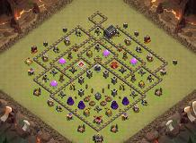 Sohail TH 9 Clash of Clans Base Layout