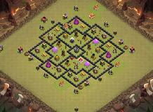don TH 8 Clash of Clans Base Layout